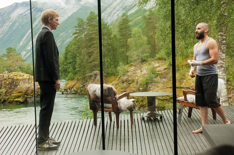 This is actually a hotel in Norway | Courtesy of the Ex Machina movie