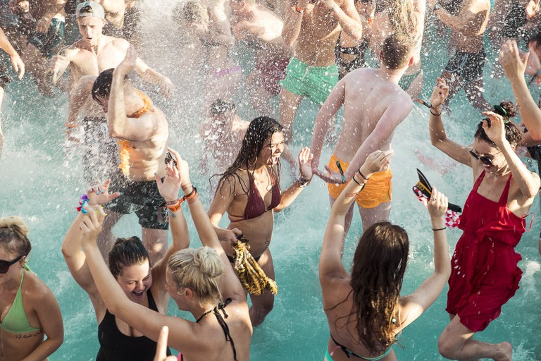 Pool party, Zrće | © Gary Brown/Courtesy of Full Fat