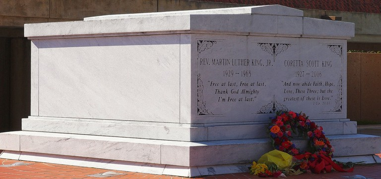 Tomb of MLK:King Center