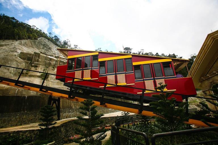 The funicular at Ba Na Hills | © nguyenkhacqui/pixabay