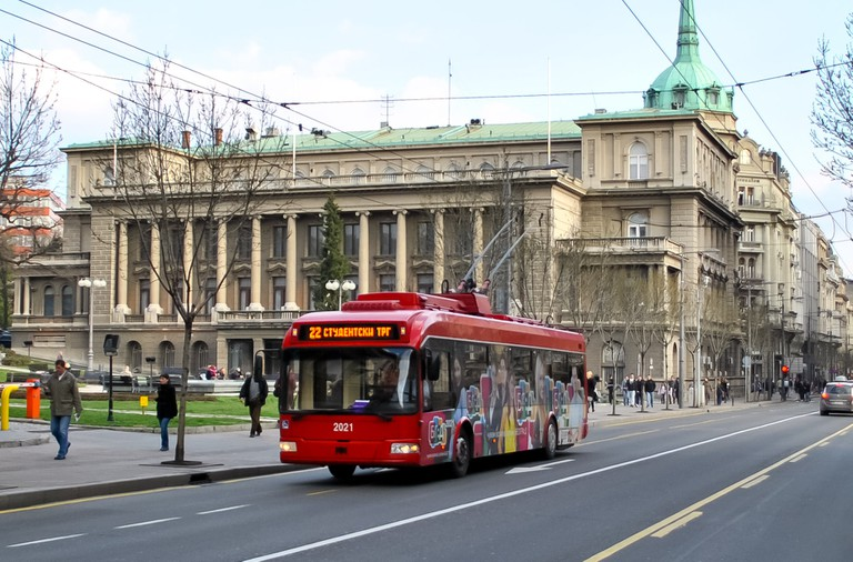 Trolleybus_Belgrade