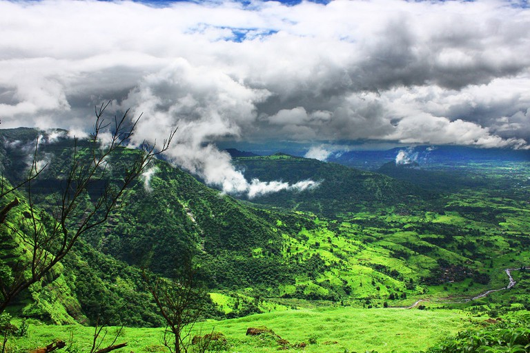 View from Matheran Hills