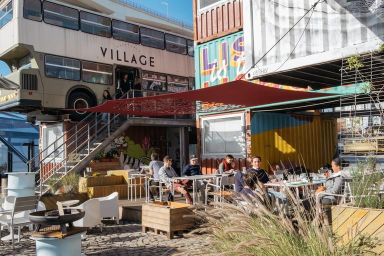 WATSON - LISBON, PORTUGAL - CAFÉ AT VILLAGE UNDERGROUND CAFE TERRACE