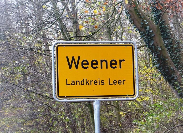 Weener_village_sign