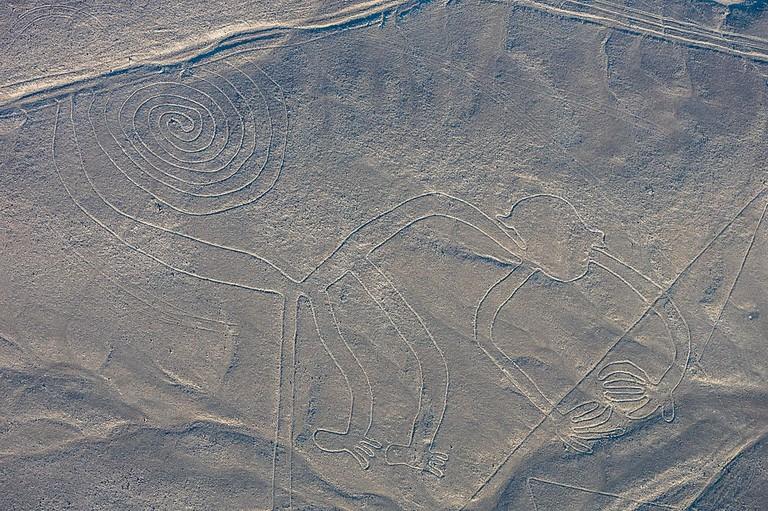 "Nazca Lines, Nazca, Peru |<a href=""https://commons.wikimedia.org/wiki/File:L%C3%ADneas_de_Nazca,_Nazca,_Per%C3%BA,_2015-07-29,_DD_49.JPG"" target=""_blank"" rel=""noopener"">© Diego Delso/WikiCommons</a>"