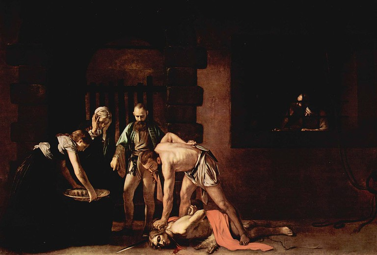 """Michelangelo Merisi da Caravaggio, 'The Beheading of St. John the Baptist,' 1608 