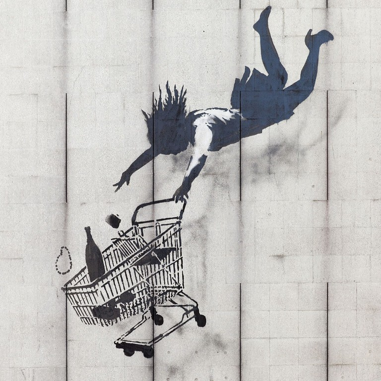 """Banksy, 'Shop Till You Drop,' 2011 