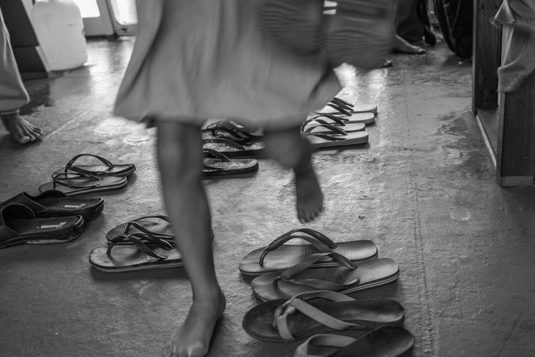 Remove shoes in Thailand
