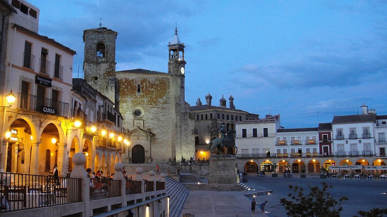 Plaza Mayor de Trujillo, Spain | ©Alvy / Wikimedia Commons