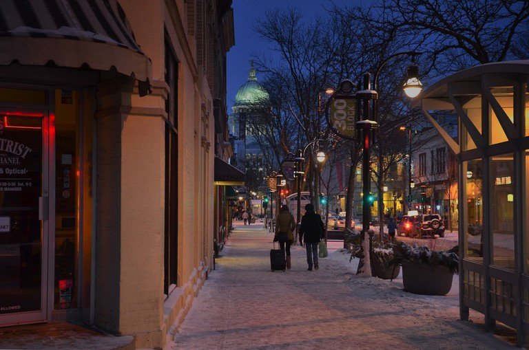 State Street in Madison | © Richard Hurd/flickr