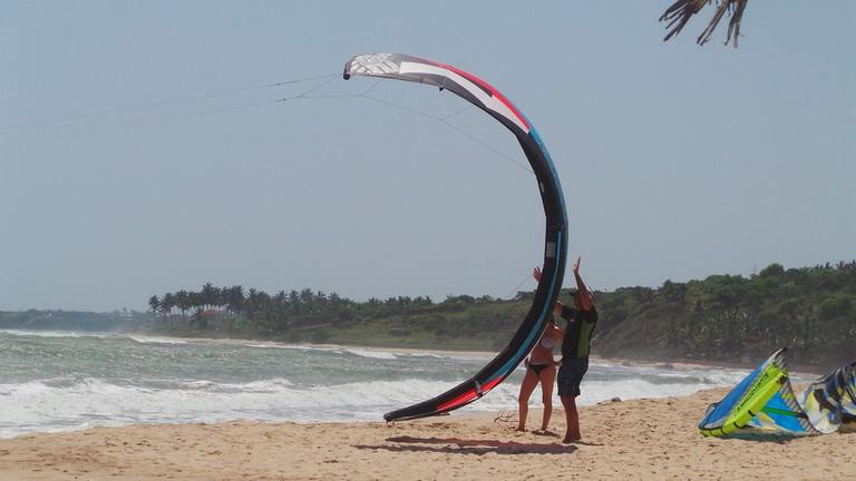 A Ghanaian beach experience, Accra Tils Beach