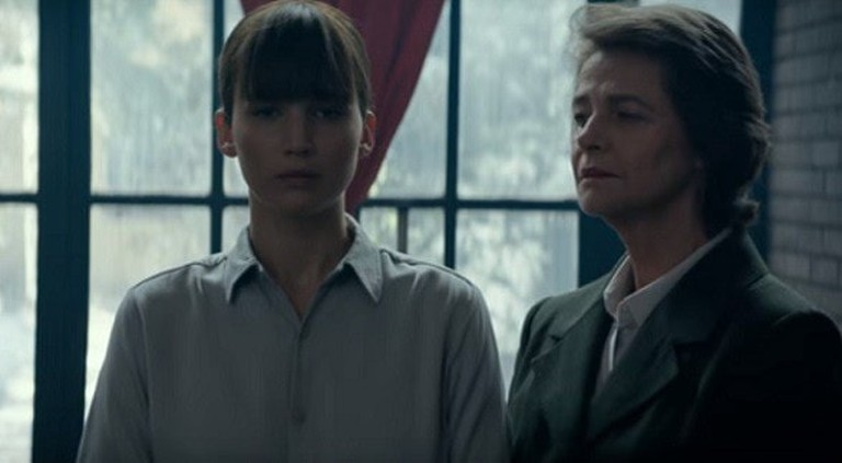 Jennifer Lawrence and Charlotte Rampling in 'Red Sparrow' | © 20th Century Fox