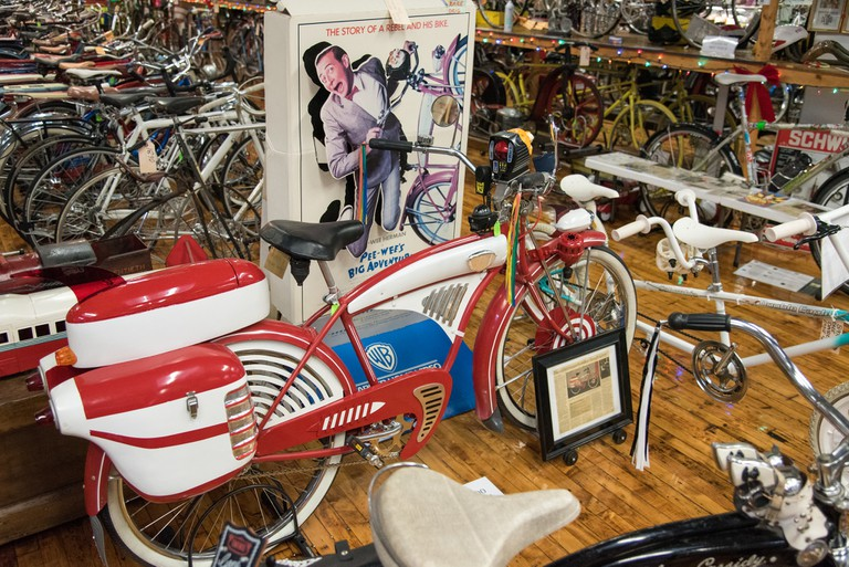 Pee-wee Herman's bike | © edwardhblake/Flickr