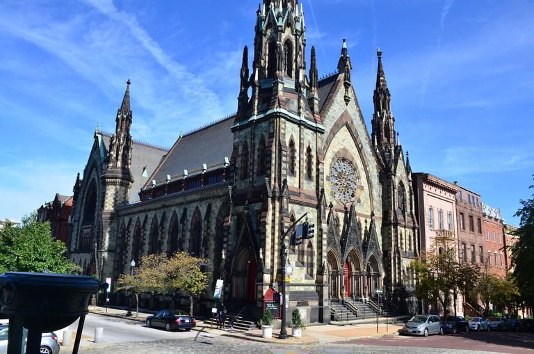 Mount Vernon Place UMC, Baltimore, Maryland, walking guide