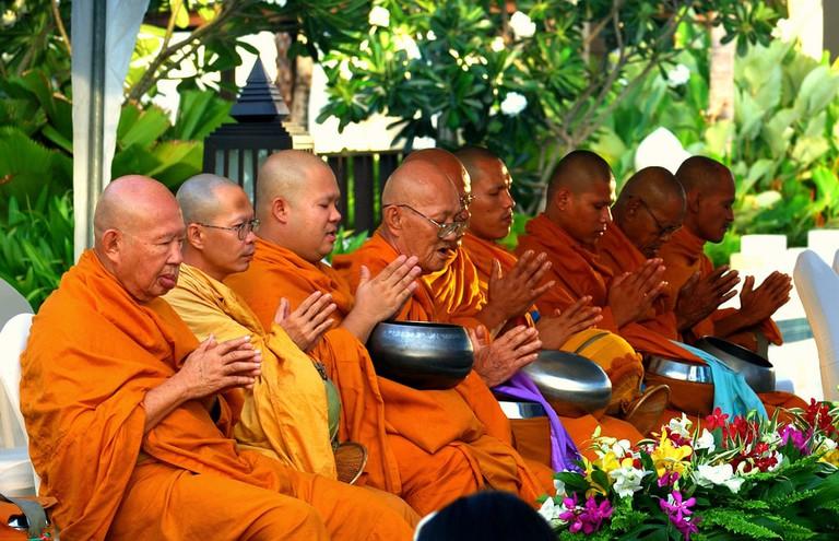 Thai monks
