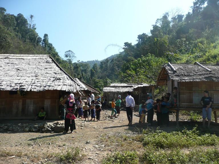 Thailand mountain village