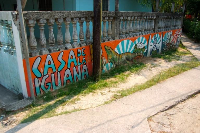 Casa de la Iguana, Livingston, Guatemala