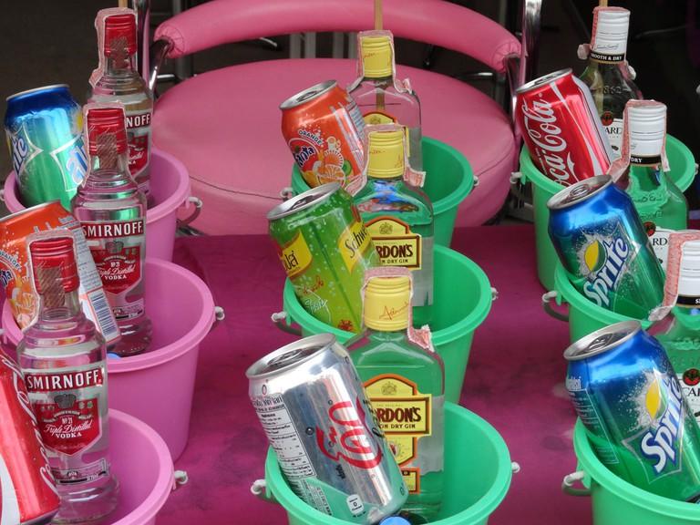 Buckets in Thailand