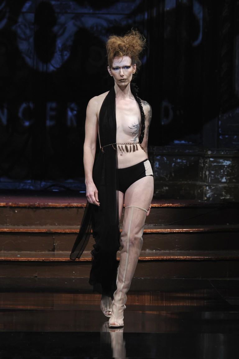 AnaOno Intimates X #Cancerland at New York Fashion Week Art Hearts Fashion NYFW FW/17