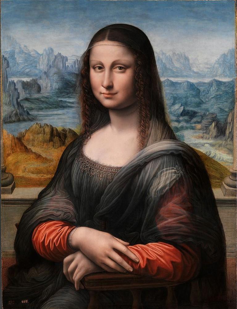 "'Mona Lisa' (Prado's version), 1503–1519 | <a href=""https://commons.wikimedia.org/wiki/File:Gioconda_(copia_del_Museo_del_Prado_restaurada).jpg"" target=""_blank"" rel=""noopener"">©WikiCommons</a>"