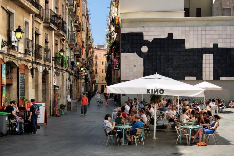 A bar opposite the MACBA I © Jorge Franganillo Flickr
