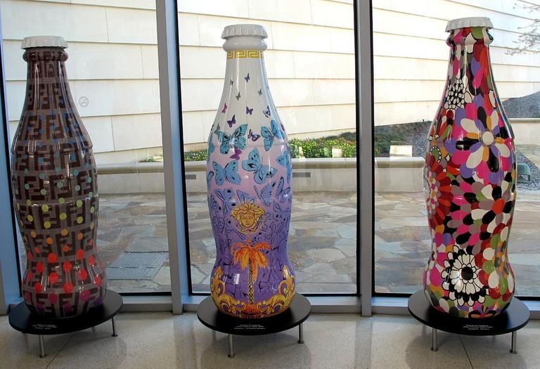 Artistic Coke Bottles