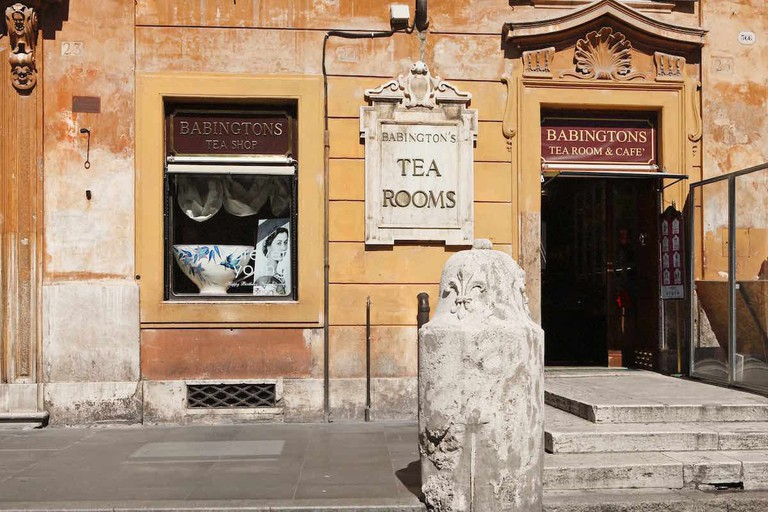 Babingtons' historic location in Piazza di Spagna | © Courtesy of Babingtons
