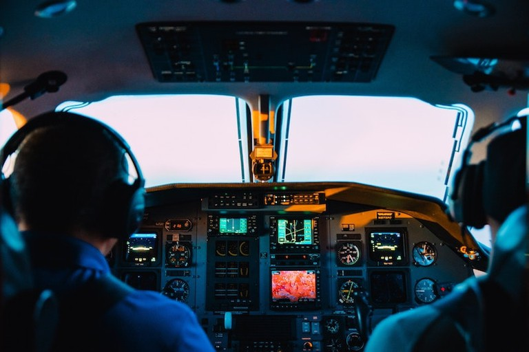 "Flying is a very safe way to travel | <a href=""https://unsplash.com/photos/R2lCJwGyqPQ"" target=""_blank"" rel=""noopener"">© Caleb Woods/Unsplash</a>"