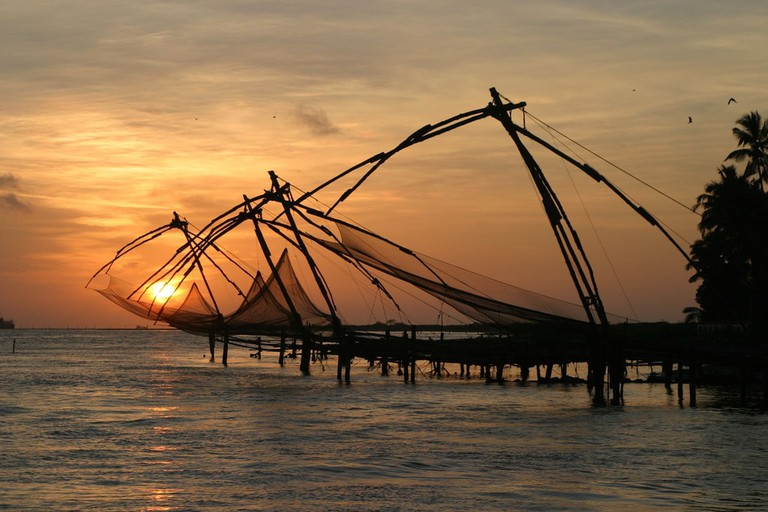 Chinese Fishing Nets in Fort Kochi Brian Snelson Flickr