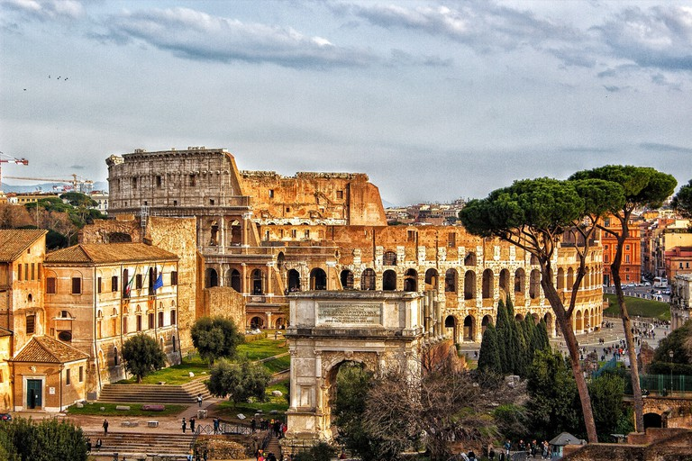 Layers of history reveal themselves in Rome   © The_Double_A/Pixabay