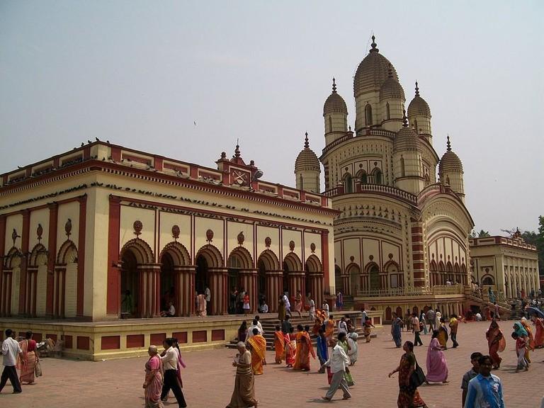 Dakshineshwar Kali Temple Sunnybrajesh WikICommons