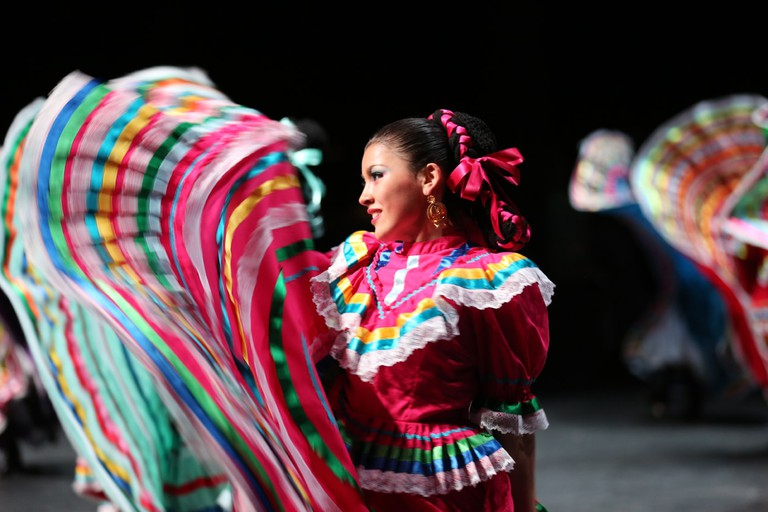 Dallas Arts District - Anita Martinez Ballet Folklorico