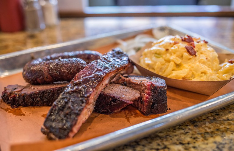 Barbecue ribs at Pecan Lodge │Courtesy of VisitDallas