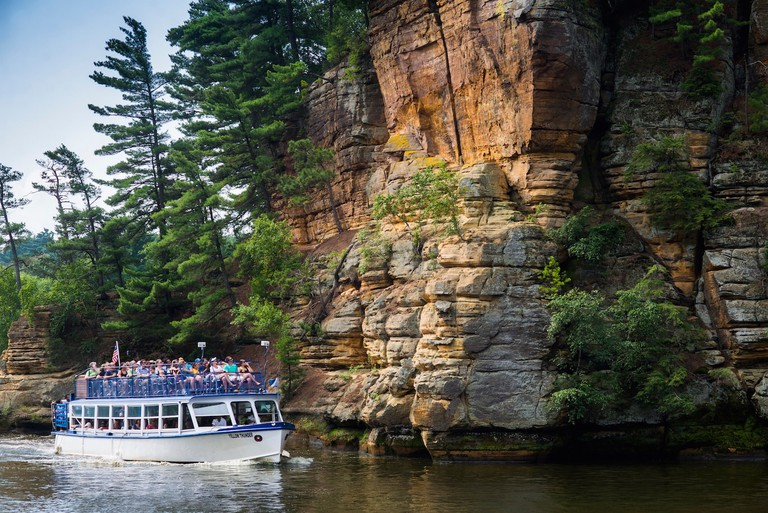 Wisconsin Dells Boat Tour | © Wisconsin Dells Visitor & Convention Bureau
