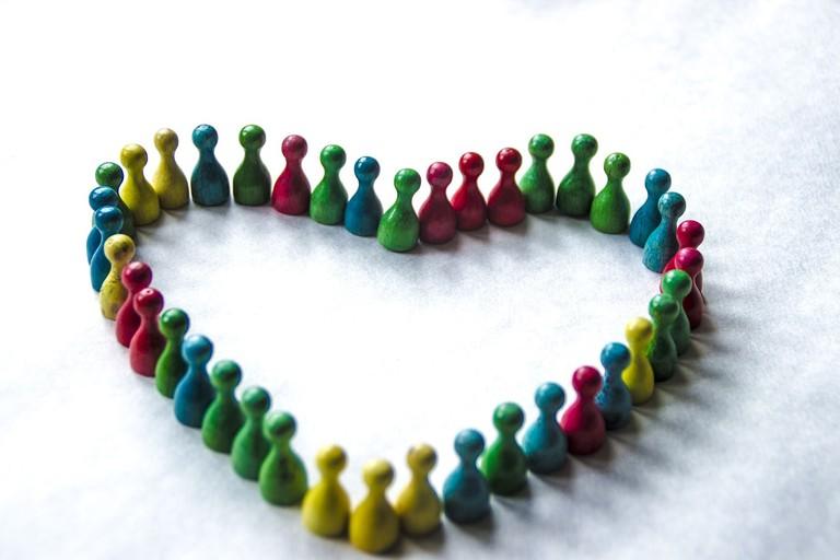 Diversity Heart WildVeganGarden