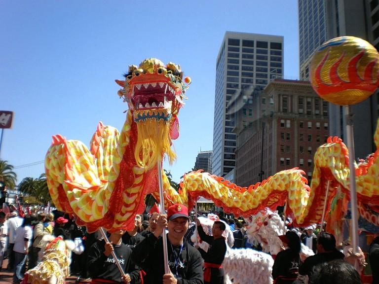 Dragon Dance Hong Kong