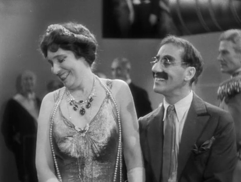 Margaret Dumont and Groucho Marx in 'Duck Soup' | © Paramount Pictures