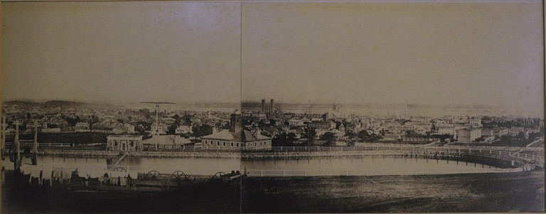 Earliest Photograph of Montreal