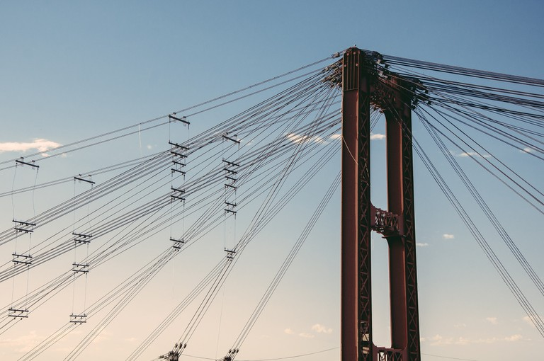 Santa Fe suspension bridge