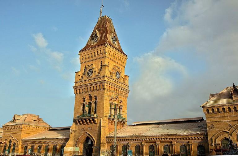 Empress_Market,_Karachi
