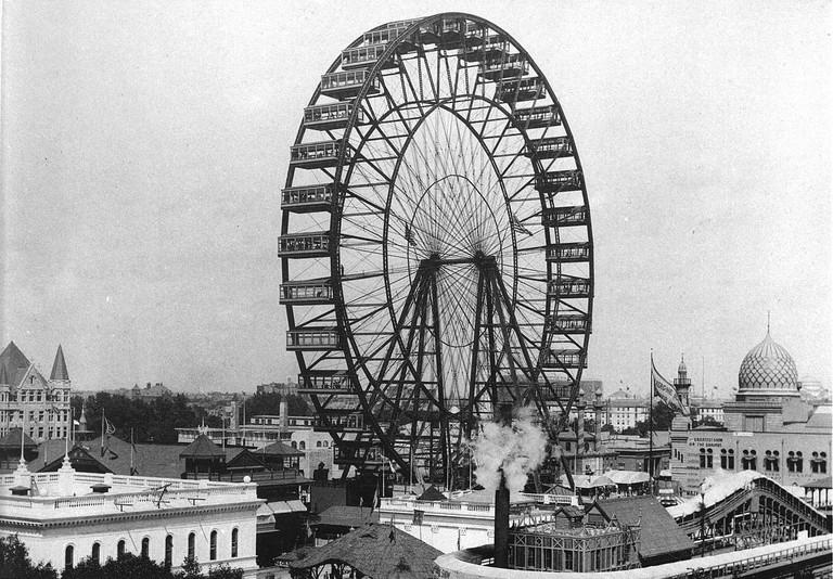 Original Ferris wheel | © C.D. Arnold / WikiCommons</a>