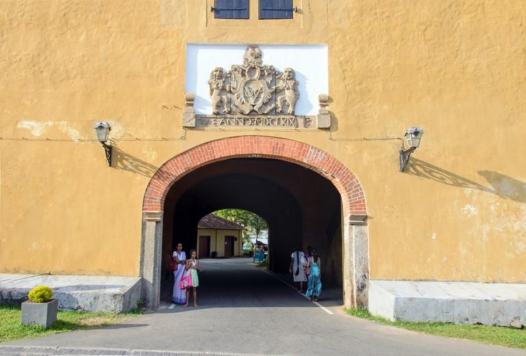 Galle Fort Entrance