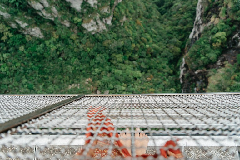 Looking down from Langkawi's Sky Bridge Irene Navarro / © Culture Trip
