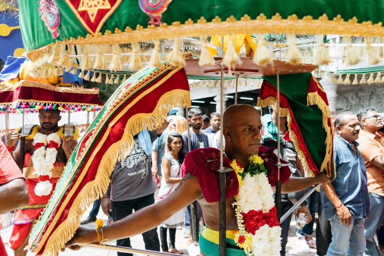 Visitors will get to see bearers carrying different size and weight of Kavadi | Irene Navarro / ©Culture Trip