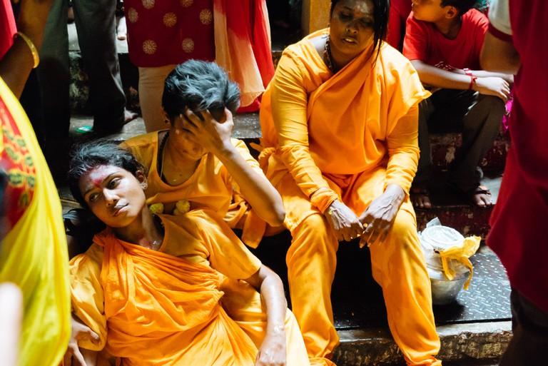 Yellow and orange symbolises the colours of Lord Murugan | Irene Navarro / © Culture Trip
