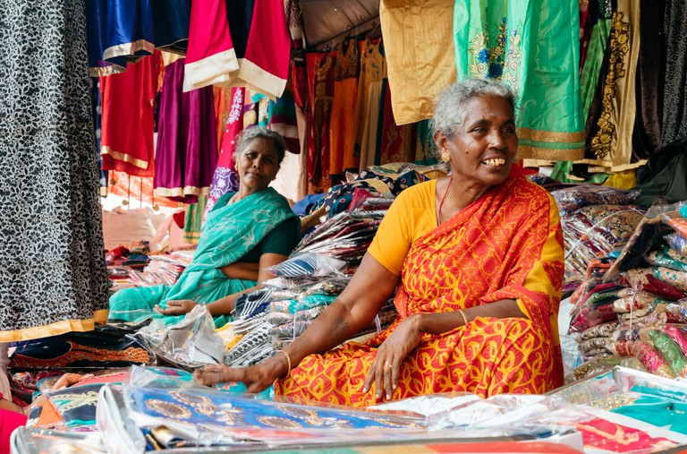 You can find traditional Indian clothing sold during the festival | Irene Navarro / ©Culture Trip