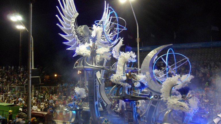 A float at Carnival
