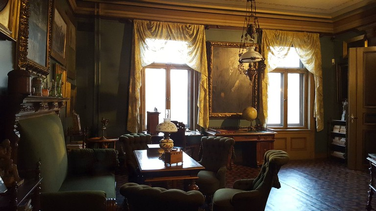 Henrik Ibsen's study, where the magic happened | Courtesy of Ibsenmuseet