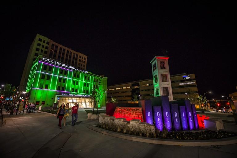 Houdini Plaza | Courtesy of Appleton Downtown Inc.