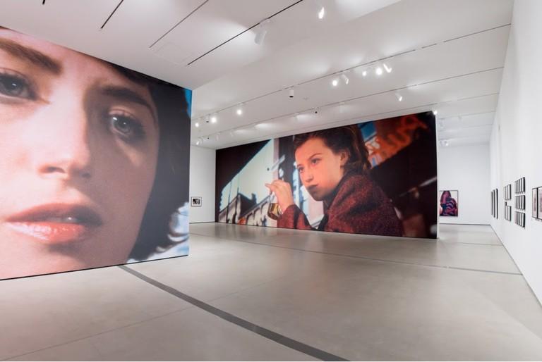 Installation of Cindy Sherman Imitation of Life exhibition photo Ben Gibbs